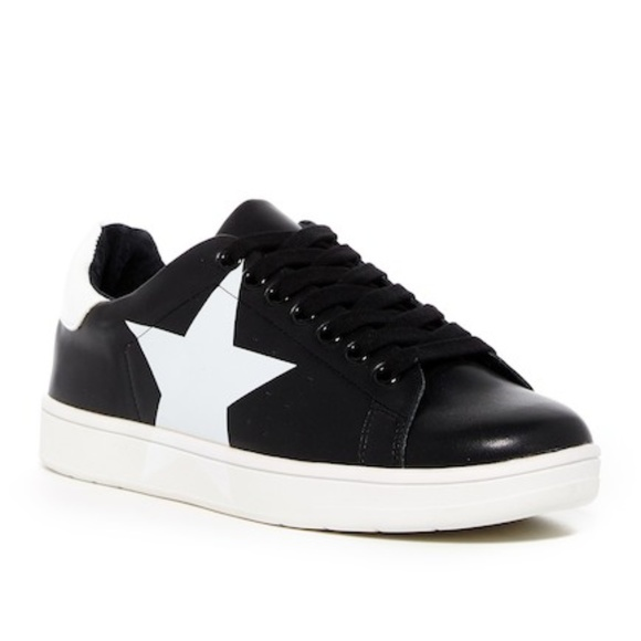 a4f27b2a8d867 Steve Madden Shoes | Rhode Faux Leather Sneakers Womens 13 | Poshmark